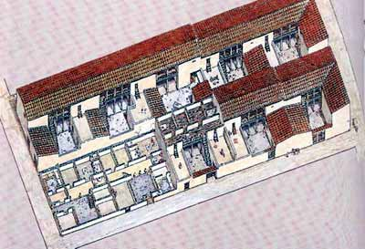 Reconstruction of a building block -