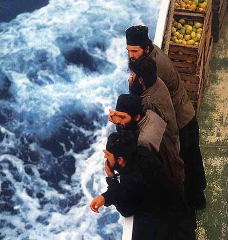 HALKIDIKI PHOTO GALLERY - Mount Athos Monks