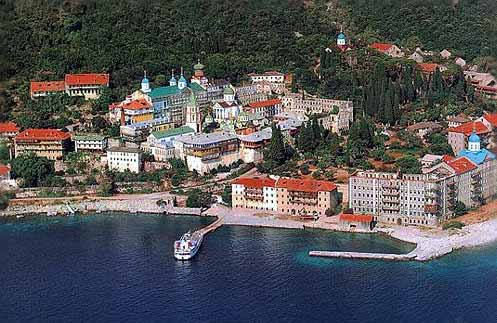 HALKIDIKI PHOTO GALLERY - Mount Athos Panteleimon Monastery