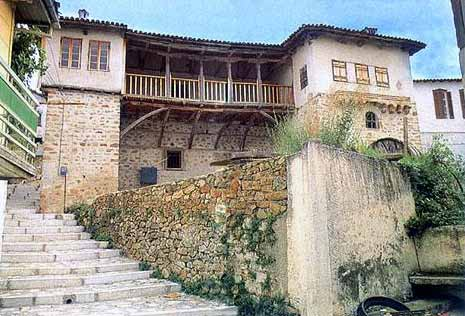 Traditional house in Arnaia village -